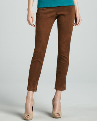 Magic Slim Suede Pants