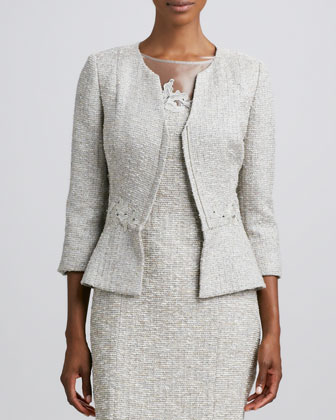 Long-Sleeve Embroidered Jacket