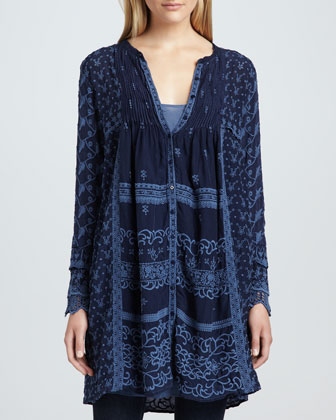 Asheena Long Tunic/Jacket