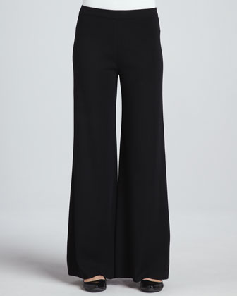 Fit & Knit Palazzo Pants, Women's