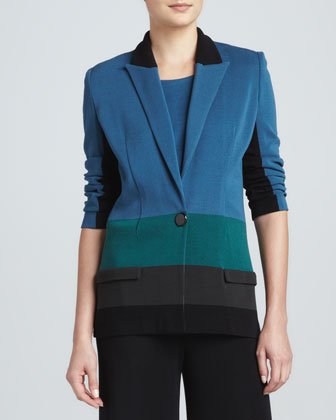 Janice Colorblock Jacket