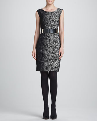 Noveau Epid Jacquard Dress