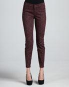 Joy Lace-Print Jeans