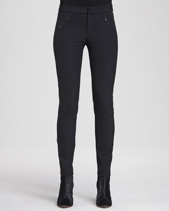 Ava Slim-Fitting Knit Pants