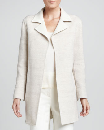 Double-Faced Wool-Blend Jacket