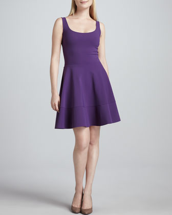 Tommasina Scoop-Neck Fit & Flare Cocktail Dress