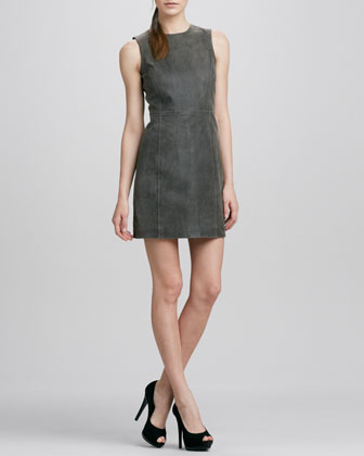 Ducka Sleeveless Leather Dress