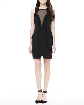 Lone Ranger Mesh-Front Dress