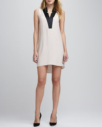 High-Low Tuxedo Dress