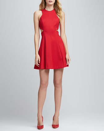 Juliette Cutout-Waist Dress