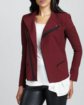 Charlotte Asymmetric Stretch Jacket