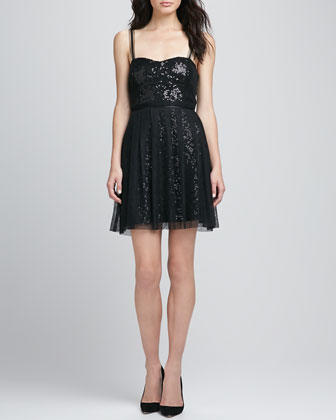 Spectacular Sparkle Sweetheart Dress