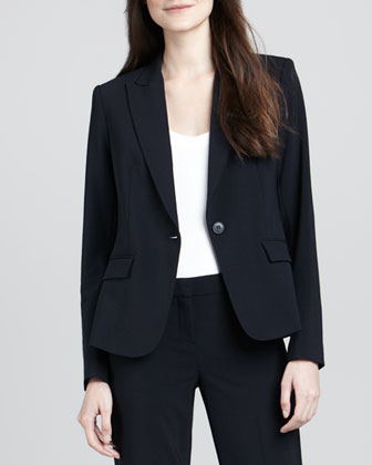 Gabe 2 One-Button Blazer, Uniform