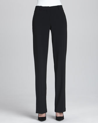 Lanai Open Crepe Blazer & Emery 2 Straight-Leg Pants