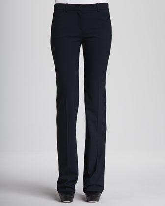 Emery Straight-Leg Trousers