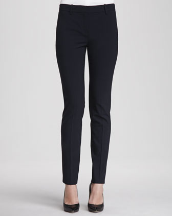 Larissa Button-Front Blouse & Louise Urban Skinny Pants