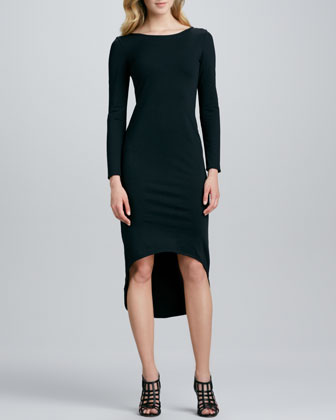 Mavis Knit Hi-Lo Dress