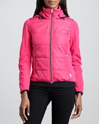Janna Quilted Fleece Jacket
