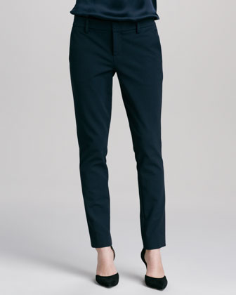 Slim Twill Trousers, Coastal