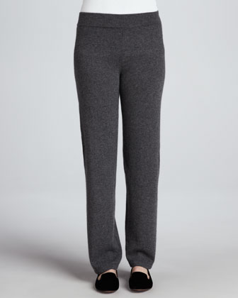 Cashmere Straight-Leg Pants