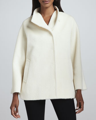 Side-Slit Car Coat