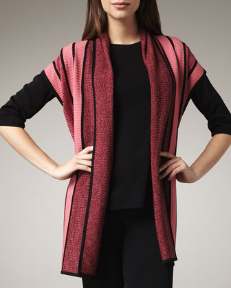 Striped Cardigan, Women's