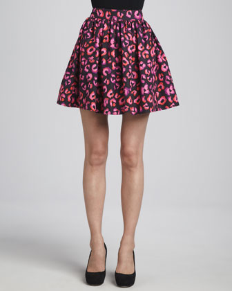 coreen printed cupcake skirt