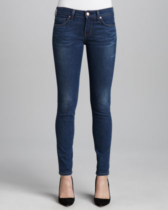 Bailey Neps Whiskered Skinny Jeans