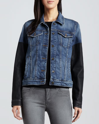 Nyla Two-Tone Denim Jacket