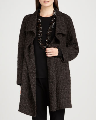 Long Eco Pebble Jacket, Petite
