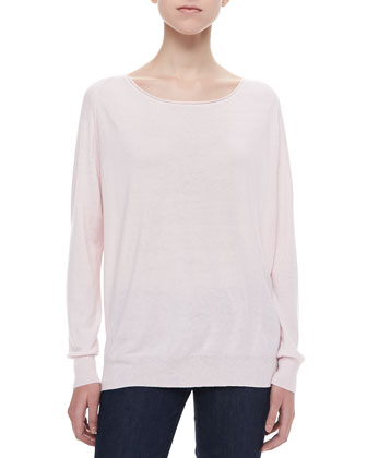 Emari Long-Sleeve Sweater