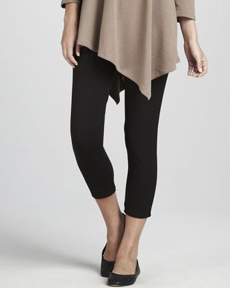 Asymmetric Tunic & Cropped Leggings