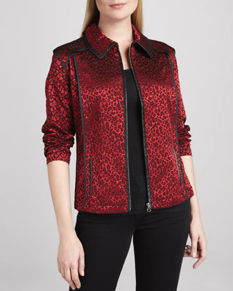 Festive & Wild Jacquard Jacket, Women's