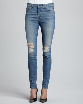 Destroyed Attwater Skinny Jeans