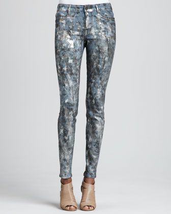 Joy Leggings with Paint Splat