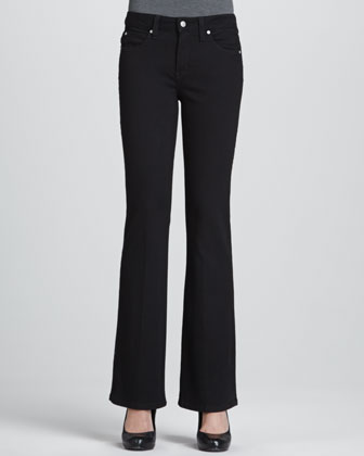 Samantha Boot-Cut Control-Panel Jeans