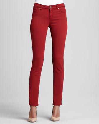 Natalie Gab 72 Twill Boot-Cut Jeans
