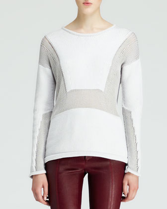 Inverse Textured Knit Sweater