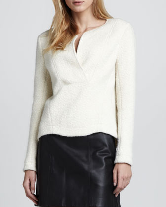 Faolo Textured Knit Sweater