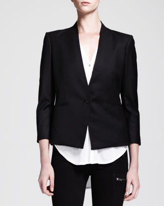 Reflect Single-Button Blazer