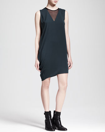 Nexa Asymmetric Drape Dress