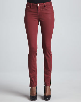 Berlin Coated Skinny Jeans