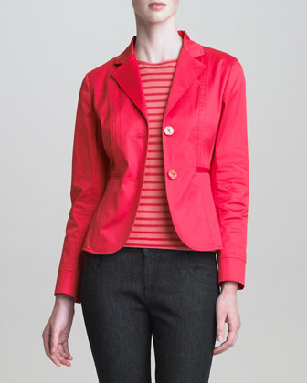 Two-Button Sport Cotton Jacket