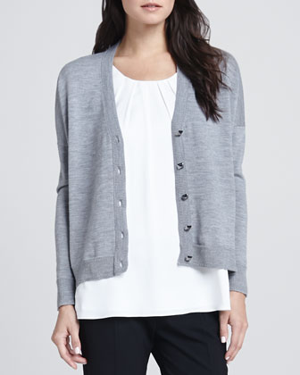Button Front Cardigan