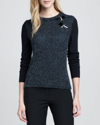 Rory Dragonfly-Embellished Sweater