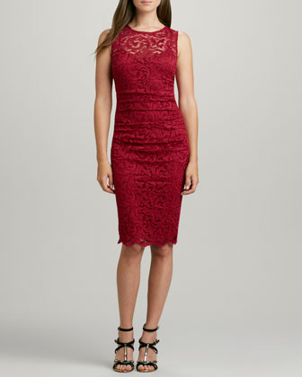 Rhumba Stretch Lace Dress