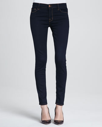 811 Ink Mid-Rise Skinny Jeans