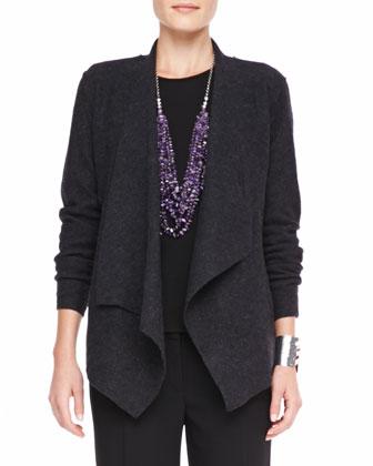 Lightweight Boiled Wool Jacket, Women's