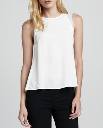Braiden Sleeveless Georgette Blouse