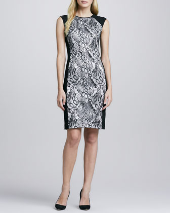 Veda Lace-Front Dress